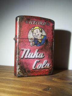 Refreshing, Ice-cold Nuka Cola Zippo lighter. #Fallout
