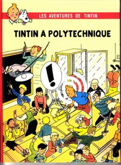 HOMMAGE-A-HERGE-TINTIN-A-POLYTECHNIQUE