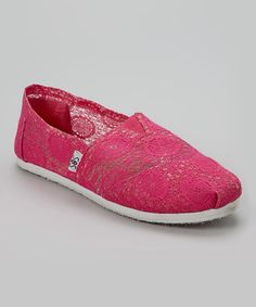 Another great find on #zulily! Shoes of Soul Fuchsia Slip-On Shoe by Shoes of Soul #zulilyfinds