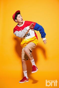 "BIG STAR Feeldog - ""bnt International"" [February 14th, 2017] [Part I] Human Poses Reference, Pose Reference Photo, Photography Poses For Men, Fashion Photography, Pop Photos, Dynamic Poses, Boy Poses, Fashion Poses, Mode Outfits"