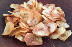 Knock Their Socks Off With Homemade Potato Chips