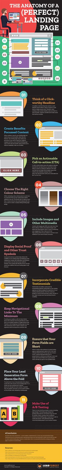 Web Design Tips: 11 Essential Elements for the Perfect Home Page [Infographic]