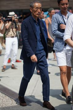 How to wear a suit casually