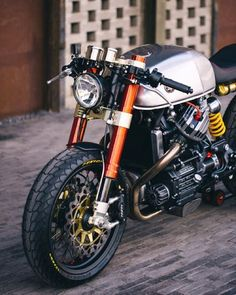 Motorcycle - Honda CX500 Cafe Racer | Honda Motorcycle | Motorcylces | cafe racer | Honda | classic | vintage | custom | chrome | ride | street | Schomp Honda