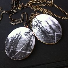 """""""View From Our Tent"""" Alberta Photo Locket — Cinder & Sage Designs Cinder, Sage, Cute Outfits, Pendant Necklace, My Style, Tent, Shopping, Accessories, Jewelry"""