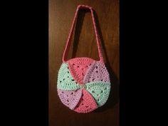crochet granny square bag tutorial DIY purses DIY hanbags Make purses Purse ideas - YouTube