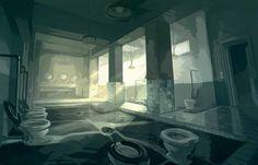 Concept Art : bd, jeux vidéos, cinéma (Le pacte des Loups, 10 000..) par Mathieu Lauffray