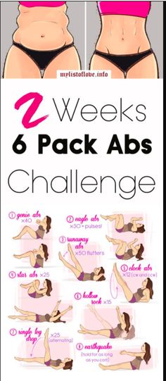 2 Weeks Hard Core 6 Pack Abs Workout Challenge – Gust Of Wind~