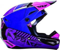 Fly Racing Kinetic Elite Onset Youth Girls Off Road Dirt Bike Motocross Helmets