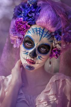 Idda van Munster: The History Behind Sugar Skull Face Painting: Dia de los Muertos