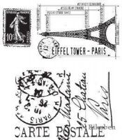 Bilde av produkt: Tim Holtz Collection: I SEE PARIS   Stamps