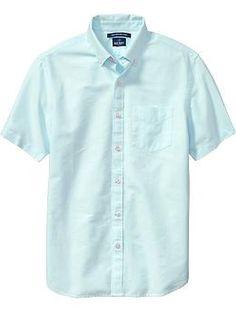 MEN - Light Blue Oxford Shirt