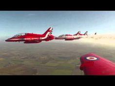 Red Arrows Unveil New Union Jack Design
