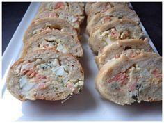 Baguette farcie saumon
