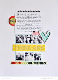 Not Nothings by Sasha at @Studio Calico  Made with Block Party. (January 2013)