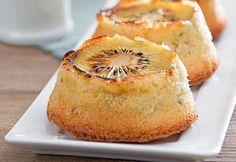 Moelleux au kiwi et au citron - Recette Interfel - Les fruits et légumes frais
