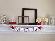 Gifts Banner Party Decorations Wedding by ABannerAffair on Etsy Gift Table Wedding, Wedding Reception Decorations, Wedding Gifts, Wedding Banners, Gift Table Signs, Vineyard Wedding, Bridal Shower, Handmade Gifts, Shower Ideas