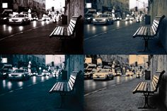 I just released Vintage B/W Tint Shift Photoshop Act on Creative Market.