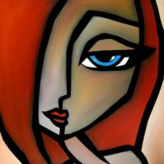 Image result for abstract art faces
