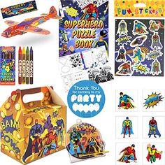 Kids Pre Filled Super Hero Luxury Childrens Boys Party Ba... https://www.amazon.co.uk/dp/B01MSD2EH3/ref=cm_sw_r_pi_dp_U_x_EV2EAbRT2GFBD