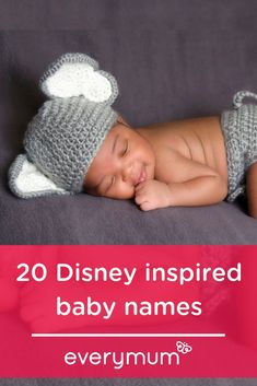 Disney classics remains one of our not so guilty pleasures. So what better way to pay tribute to one of your childhood favourites than to give your little one a moniker inspired by your favourite Disney characters? We have compiled a list of 20 boy and gi Celtic Baby Names, Irish Baby Names, Vintage Baby Names, Unique Baby Names, Get Baby, Baby Kids, Baby Boy, Diaper Bag Essentials, Celebrity Baby Names