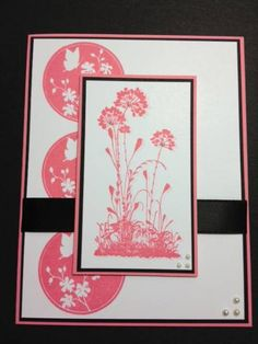 Serene Silhouettes Card by sn0wflakes - Cards and Paper Crafts at Splitcoaststampers