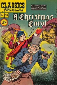 Classics Illustrated / A Christmas Carol / Cover