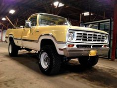 1974 Dodge Pick-up. I know it's not a Ford but I like it and would drive it.