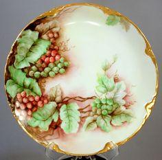 Antique  J.C & T.G.H.B Co Toledo Plate Hand Painted Bavaria    eBay