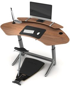 The Locus Sphere Workstation The new Locus Sphere ergonomic standing desk is Command Center and The Corner Office combined.