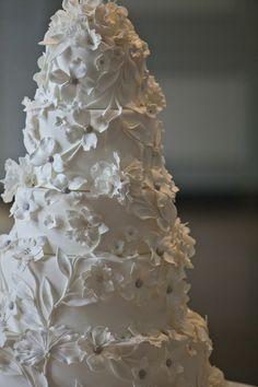 Custom Wedding Cake by Ana Parzych Cakes  www.anaparzychcustomcakes.com