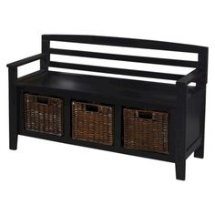Entryway Bench with Drawers and Baskets - Black Entryway Bench with Drawers and. Entryway Bench with Drawers and Baskets – Black Entryway Bench. - My Website 2020 Find Furniture, Home Furniture, Bench With Drawers, Black Drawers, Behind Couch, Entry Closet, Entry Bench, Apartment Entryway, Entry Way Design