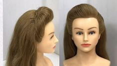 Best Easy way for Long Lasting Puff Hairstyle : Easy Hairstyles Hi girls, today I am showing best ea Easy Party Hairstyles, Office Hairstyles, Easy Hairstyles For Long Hair, Hairstyles Haircuts, Braided Hairstyles, Puff Hairstyle, Hair Puff, Front Hair Styles, Medium Hair Styles