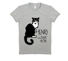 Henri t-shirt - Cat Wisdom 101 | Henri le Chat Noir Giveaway and Q & A with Will Braden