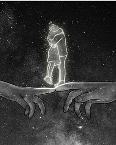 Illustration Art Dessin, Love Illustration, Illustrations, Love Art, All Art, Romance Art, Dark Art Drawings, Universe Art, Galaxy Universe
