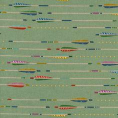 Cotton & Steel by Melody Miller, Arrow Linen Canvas -$20/yard
