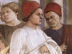 ❤ - Fra' FILIPPO LIPPI (1406-1469) -    The Funeral of St. Stephen (detail).