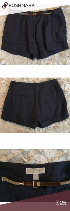 MICHAEL Michael Kors Navy Blue Shorts Navy blue shorts. MICHAEL Michael Kors Shorts