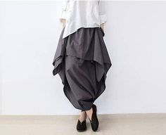 Women Linen Wide Leg Pants