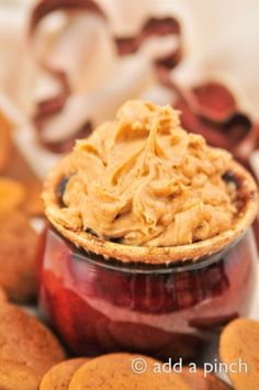 Gingerbread Cookie Dough Dip- Perfect dip for the holiday season. Paired perfectly with fruit, cookies (gingerbread), graham crackers. by keri