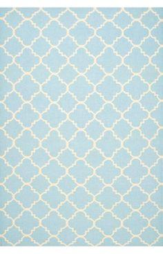 Safavieh Dhurries DHU554 Light Blue Rug