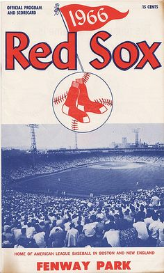 1966 Red Sox Program