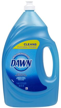 Dawn dish soap is a miracle shampoo! It washes out built up hair products and grease and leaves your hair silky and shiny! Only use every 2-4 weeks though