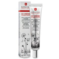 Erborian CC Creme HD This magic CC cream gives you a candlelit glow, no matter where you are, and it's packed with good-for-your-skin nutrients.