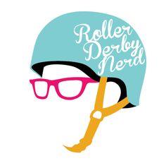 Roller Derby Nerd by John Woolley