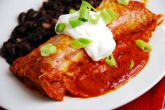 Spinach and Cheese Enchiladas Recipe – 5 Points   - LaaLoosh