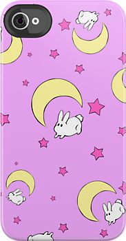 I'm sorry for all the Sailor Moon pins guys, I just hit the mother load...Tsukino Usagi Bed Sheet iPhone Case by Oshiokiyo