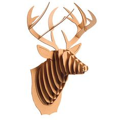 Medium Deer Trophy - Christmas Gifts for Him - Southern Living African Theme, Daddy Day, Orange Chevron, Christmas Gifts For Him, Precious Children, Gag Gifts, Jelly Beans, Rustic Design, Deer