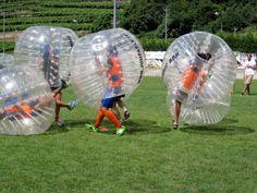 Villa Lagarina (TN)  Torneo di Bubble Football presso il centro sportivo