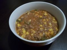 Indian Corn Stew - My list of the most healthy recipes Indian Food Recipes, Beef Recipes, Soup Recipes, Cooking Recipes, Recipies, Mexican Recipes, Appetizer Recipes, Easy Recipes, Cherokee Food